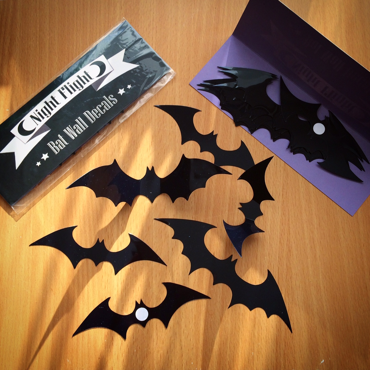 3D Night Flight Bat Wall Decals & 3D Night Flight Bat Wall Decals | Spooky Box Club