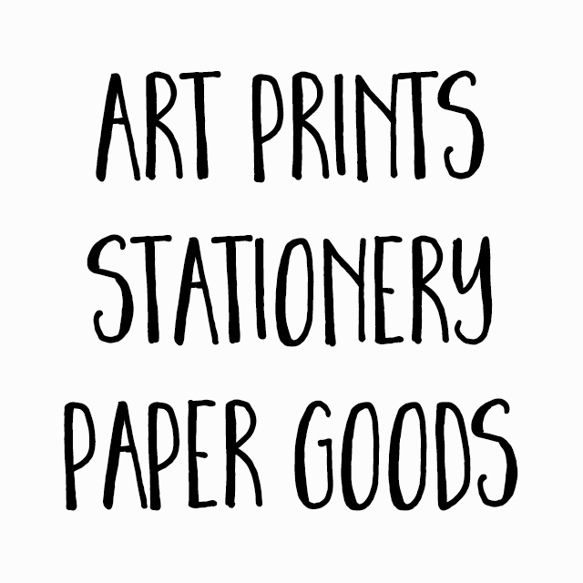 Art Prints, Stationery & Paper Goods