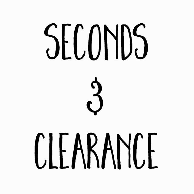 Seconds & Clearance