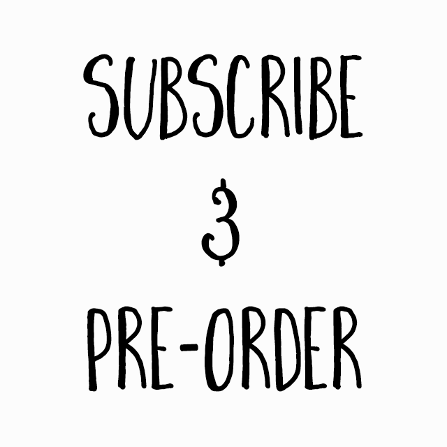 Subscribe & Pre-order